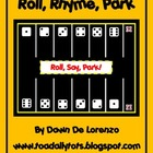 Roll, Rhyme, Park {CVC Words}