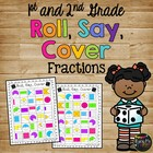 Roll, Say, Cover Fraction Dice Game K, 1st, 2nd