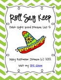 Roll Say Keep {Dolch Sight Word Phrases from List 5}