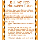 Roll Say Keep Halloween Edition