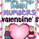 Roll, Say Keep {Valentine's Numbers}