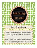 Roll a Brain Break