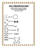 Roll a Gingerbread Man Worksheet