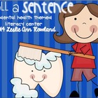 Roll a Sentence: Dental Health Edition