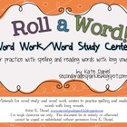 Roll a Word! {Long Vowel Word Work/Word Study Centers}