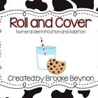 Roll and Cover - Numeral Identification and Addition