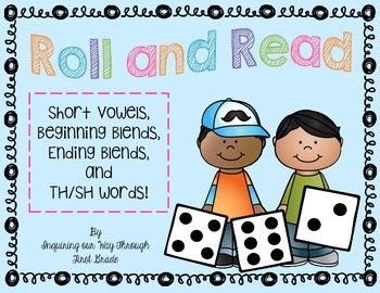 Roll and Read: Blends and TH/SH words