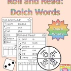 Roll and Read: Dolch Word Edition (Pre-Primer - 3rd Grade