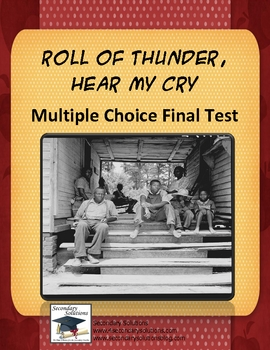 Roll of Thunder Hear My Cry Multiple Choice Test