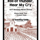 Roll of Thunder, Hear My Cry     Whole Book Test