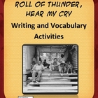 Roll of Thunder Hear My Cry Writing and Vocabulary Activities