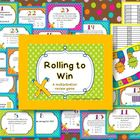Rolling to Win-a multiplication review game
