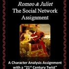 Romeo & Juliet Social Network - Character Analysis Assignment