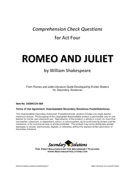 romeo and juliet critical essay