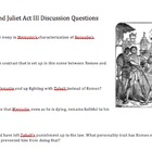 Romeo and Juliet Act III Discussion Questions