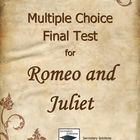 Romeo and Juliet Multiple Choice Final Test