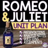 ROMEO AND JULIET Unit Plan: Presentations, Projects, Print