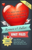 Shakespeare's Romeo and Juliet Handouts and Activities