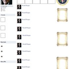Ronald Reagan Presidential Fakebook Template