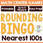 Rounding Bingo Game - To the Nearest Hundreds