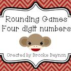 Rounding Games - Nearest Thousand and 4 digit numbers