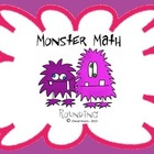 Rounding Monster Math Game - 3.NBT.1