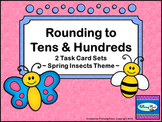 Rounding Numbers Task Cards - Tens and Hundreds