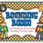 Rounding Rodeo Math Game