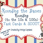 Rounding Task Cards & SCOOT (Common Core 3rd & 4th Grade)