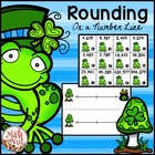 Rounding on a Number Line Freebie