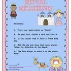 Royal Reading:  Princess CVC and Sight Word Sentence Game