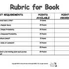 Rubric Create a Probabilty Book