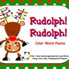 Rudolph! Rudolph! Color Poem for ActivBoard