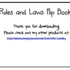 Rules & Laws Flip Book