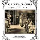 Rules for Teachers 1872
