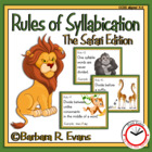 Rules of Syllabication (The Safari Edition)