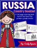 Russia Booklet (A Country Study!)