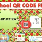 SCHOOL MULTIPLICATION QR Code Fun