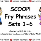 BLACKFRIDAY14 SCOOP! Fry Phrases Sets 1 - 6 Card Game Mone