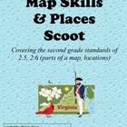 SCOOT:  Virginia Map Skills for Second Grade