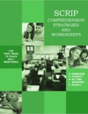 SCRIP Reading Comprehension Strategies and Worksheets
