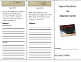 SF Reading Street Grade 4 Eye of the Storm Comprehension Trifold