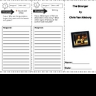 SF Reading Street Grade 4 The Stranger Comprehension Trifold