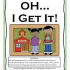 SL.K.3 Kindergarten Common Core Worksheets, Activity, and Poster