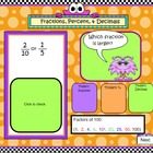 SMART Board Math Calendar Grades 4-5 Day Files Set 2