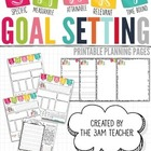 S.M.A.R.T. Goal Setting Printable Pages