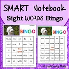 SMART Notebook SMART Board Sight Word Bingo Words 1-96