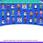 SMARTBoard Attendance File: Winter Theme