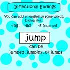 SMARTboard Inflectional Endings