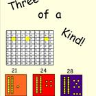 SMARTboard Lesson |Three of a Kind Acitivty using a 99 or